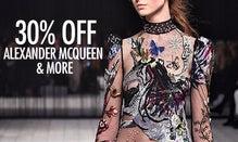 30% Off Alexander McQueen, Victoria Beckham & More
