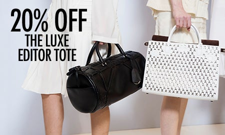 20% Off The Luxe Editor Tote
