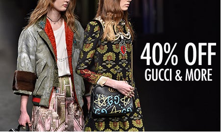 40% Off Prada, Gucci & More