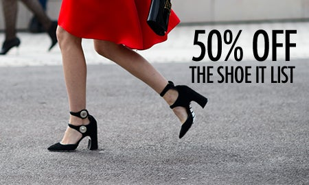 50% Off The Shoe It List