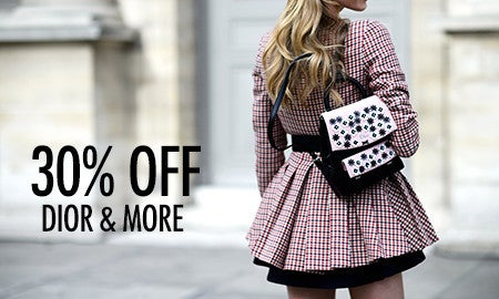 30% Off Dior, Valentino & More