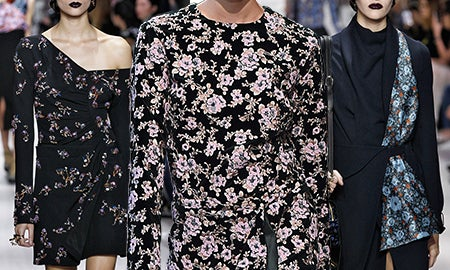Trend Alert: Fall's Dark Twist On Florals