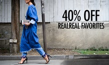 40% Off RealReal Favorites