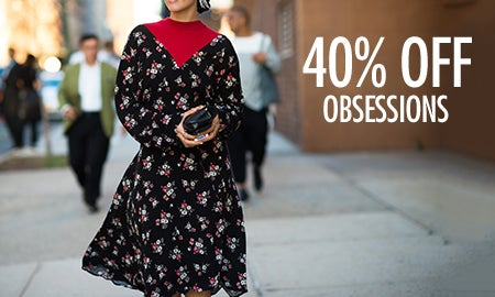 40% Off Just-In Obsessions