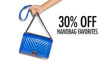 30% Off Handbag Favorites