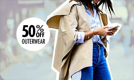 40% Off Outerwear