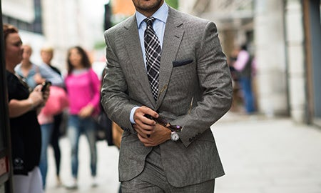 Power Play: Men's Suiting