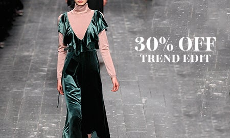 30% Off The Trend Edit