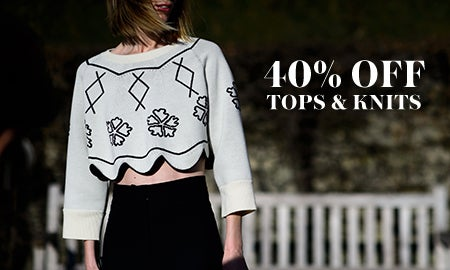 40% Off Tops & Knits