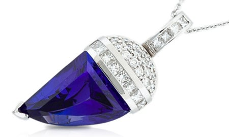 Tanzanite & Diamonds